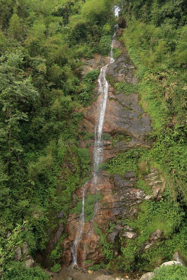 Piccole cascate del Sikkim, India immagine stock libera da diritti