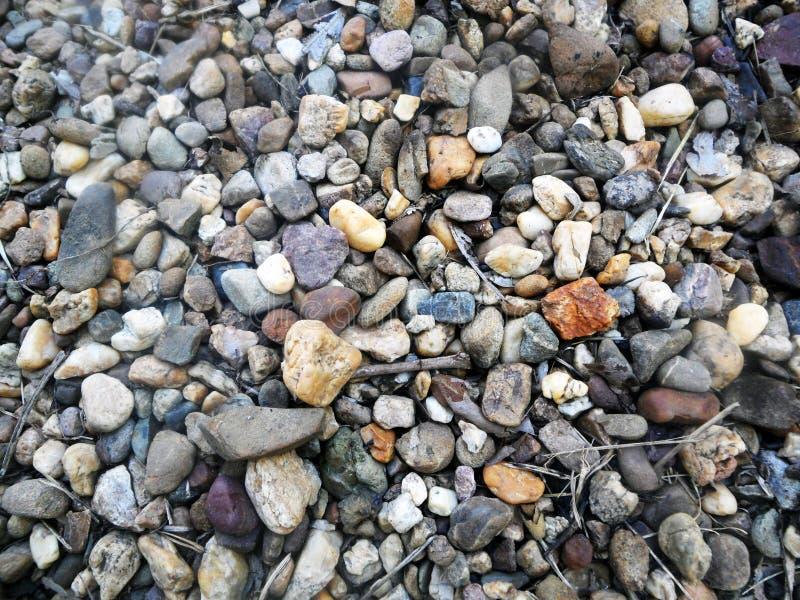 Piccole rocce fotografia stock