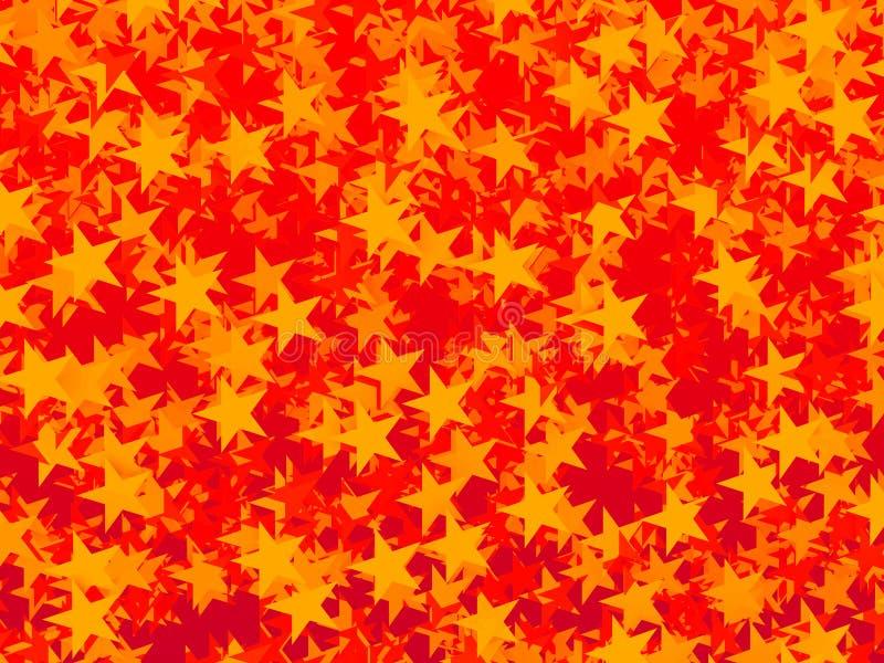 Piccole stelle illustrazione vettoriale