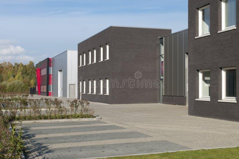 Piccoli edifici per uffici immagini stock libere da diritti