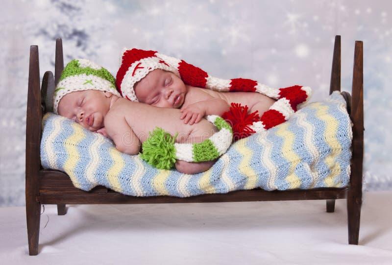 Piccoli elfi fotografie stock