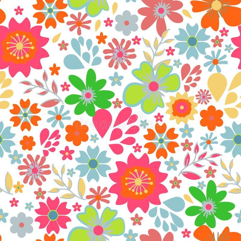 Piccoli fiori illustrazione di stock