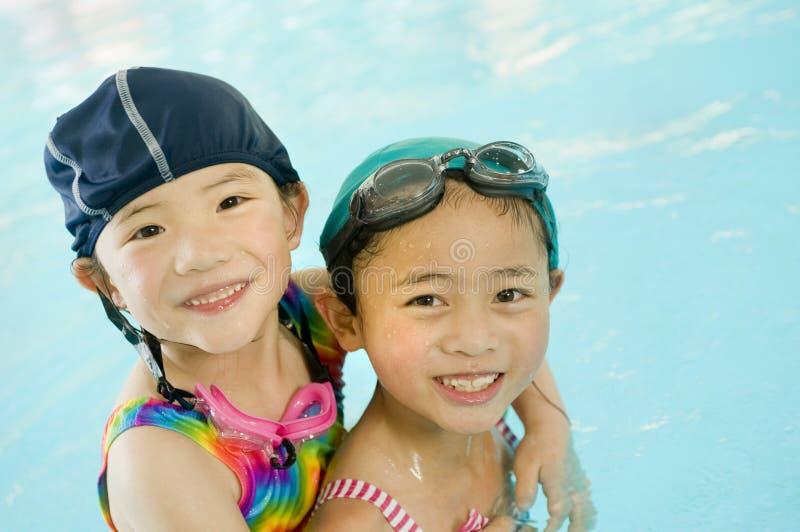 Piccoli nuotatori immagine stock libera da diritti