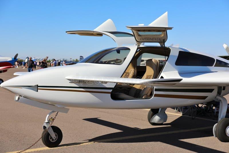 Piccolo aereo privato fotografie stock