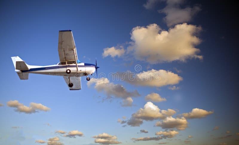 Piccolo aeroplano immagine stock libera da diritti