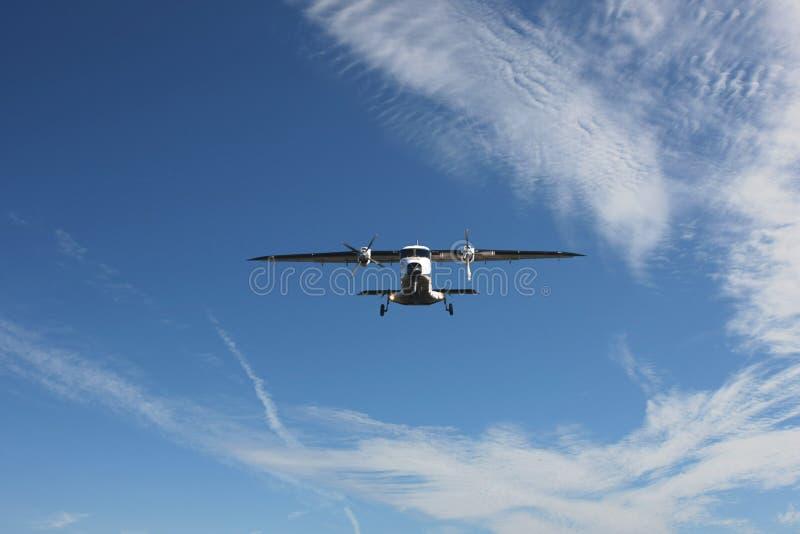 Piccolo aeroplano fotografia stock libera da diritti