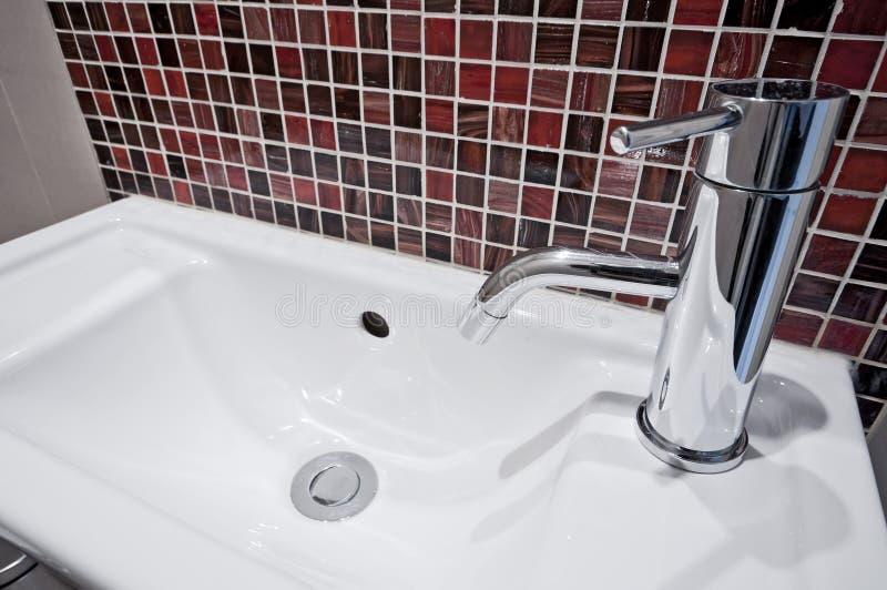 Piccolo bacino di handwas fotografie stock