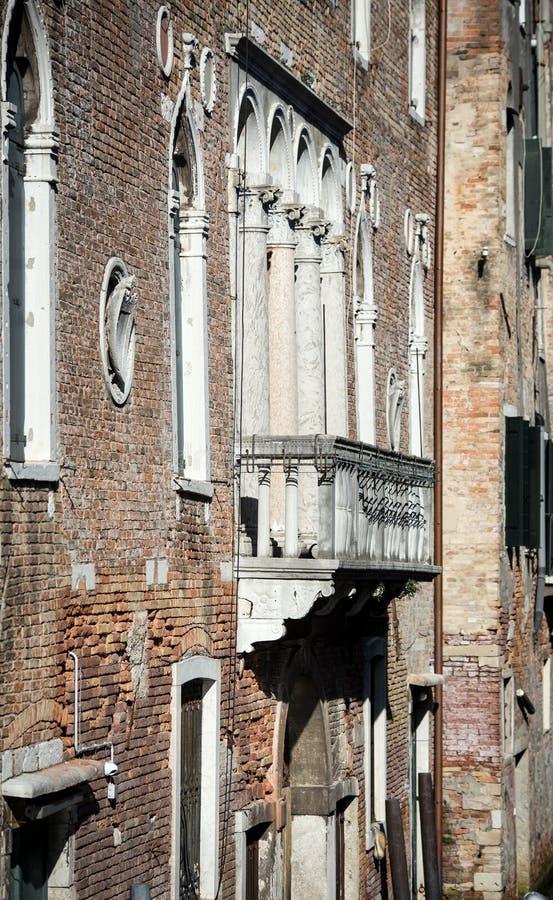 Piccolo balcone Venezia fotografia stock