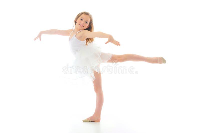 Piccolo ballerino fotografia stock libera da diritti
