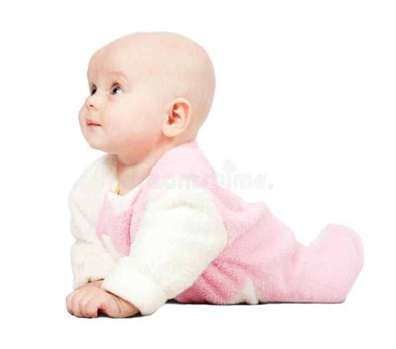 Piccolo bambino adorabile fotografia stock