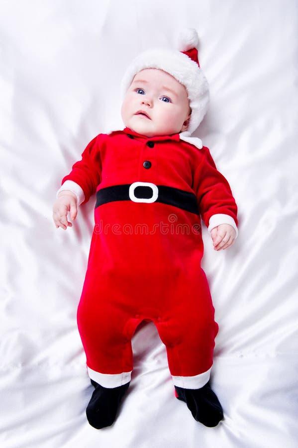 Piccolo bambino adorabile della Santa immagine stock libera da diritti