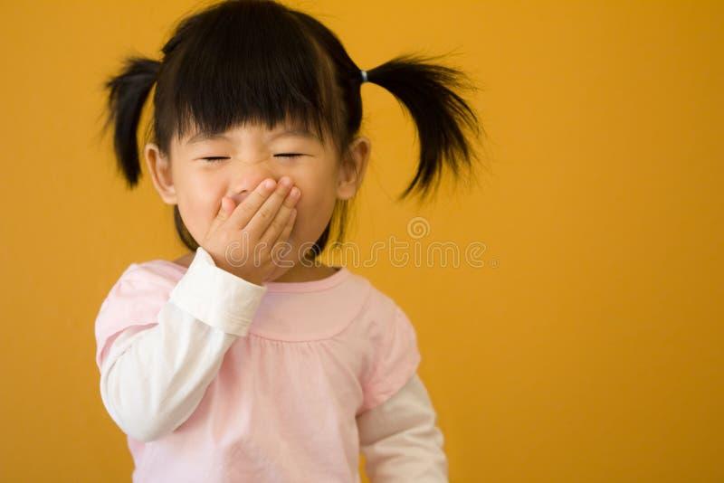 Piccolo bambino felice immagine stock