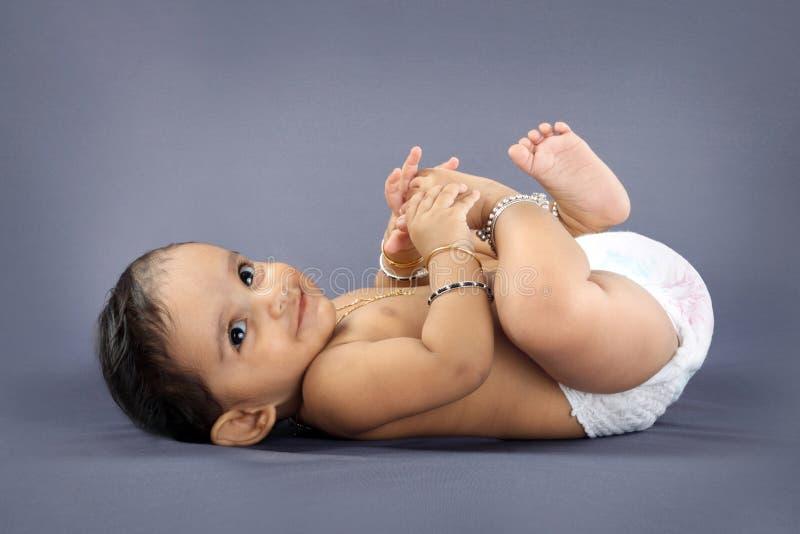 Piccolo bambino indiano immagini stock libere da diritti