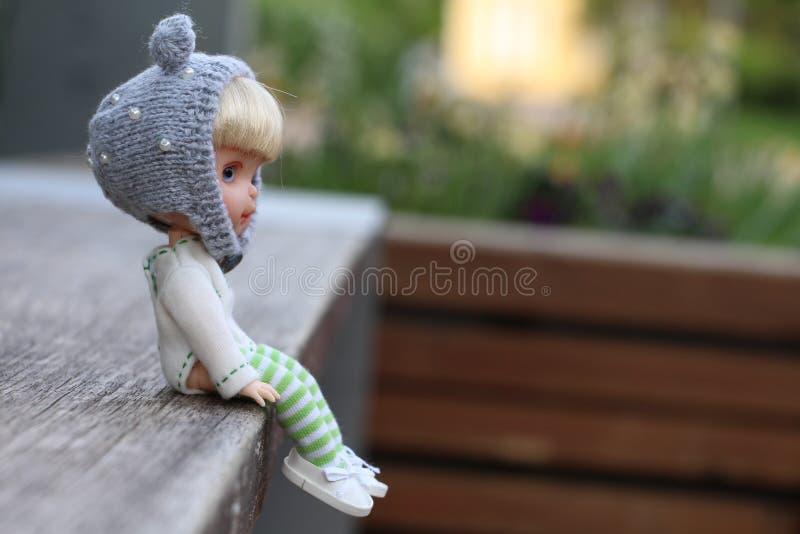 Piccolo bambole inoltre ha un cuore immagine stock