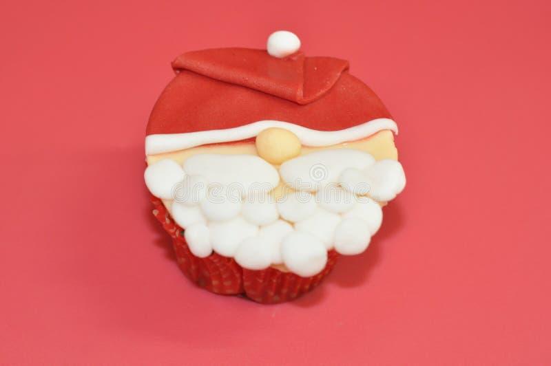 Piccolo bigné del Babbo Natale immagine stock libera da diritti