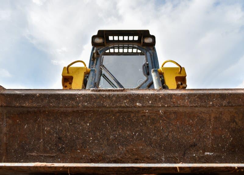 Piccolo bulldozer fotografia stock libera da diritti