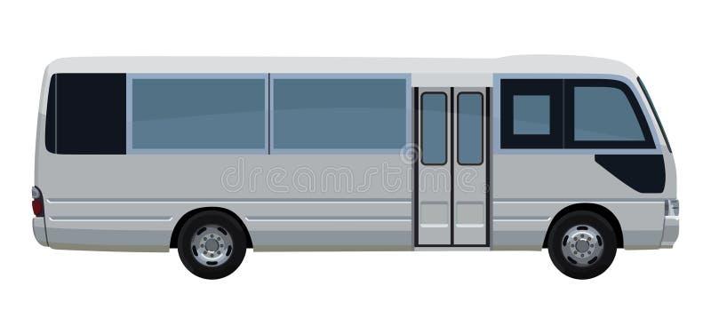 Piccolo bus del passeggero royalty illustrazione gratis