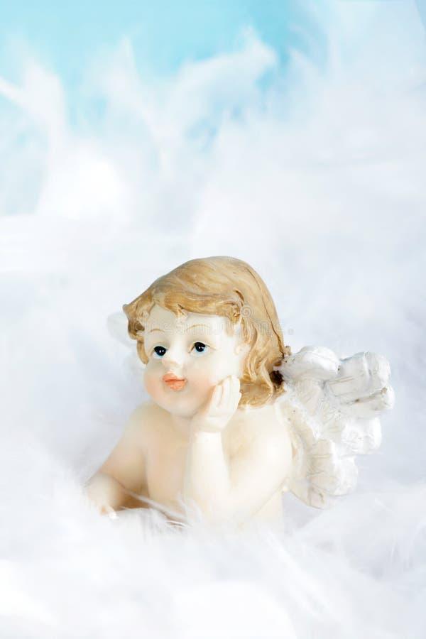 Piccolo cherub immagine stock