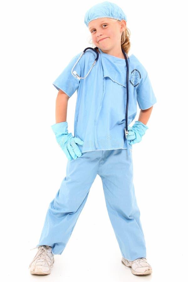 Piccolo chirurgo immagini stock libere da diritti