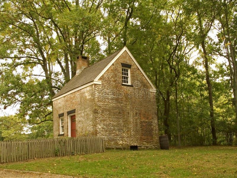 Piccolo Colonial immagine stock