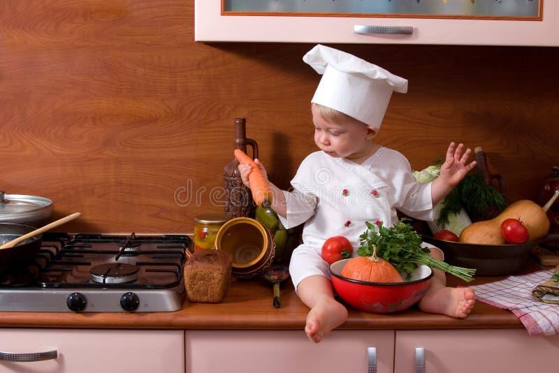 Piccolo cucina fotografia stock libera da diritti