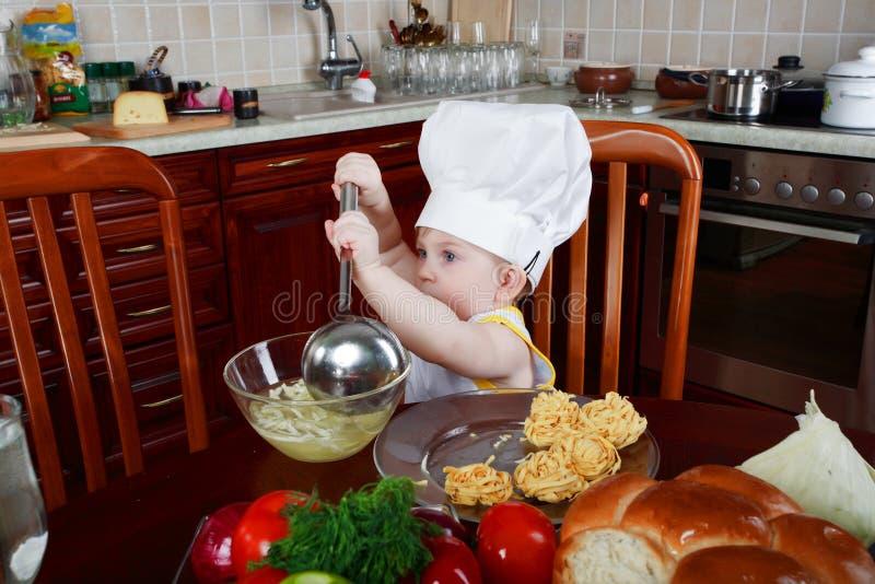 Piccolo cucina fotografie stock libere da diritti