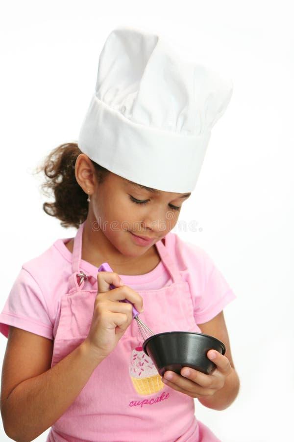 Piccolo cuoco unico fotografia stock libera da diritti