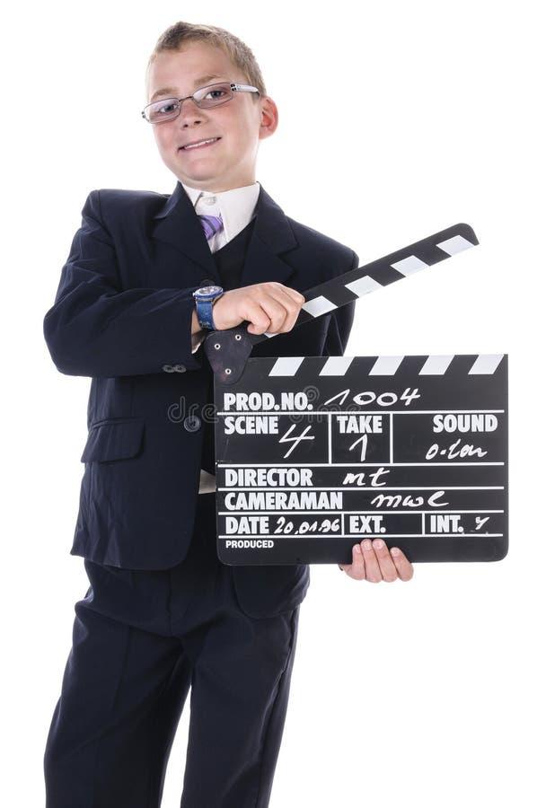 Piccolo direttore fotografia stock libera da diritti