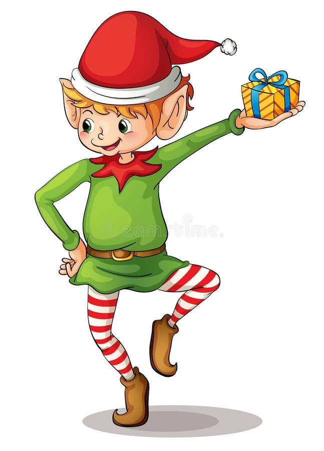 Piccolo elfo illustrazione vettoriale