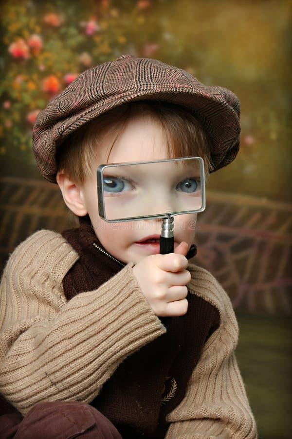 Piccolo esploratore fotografia stock libera da diritti