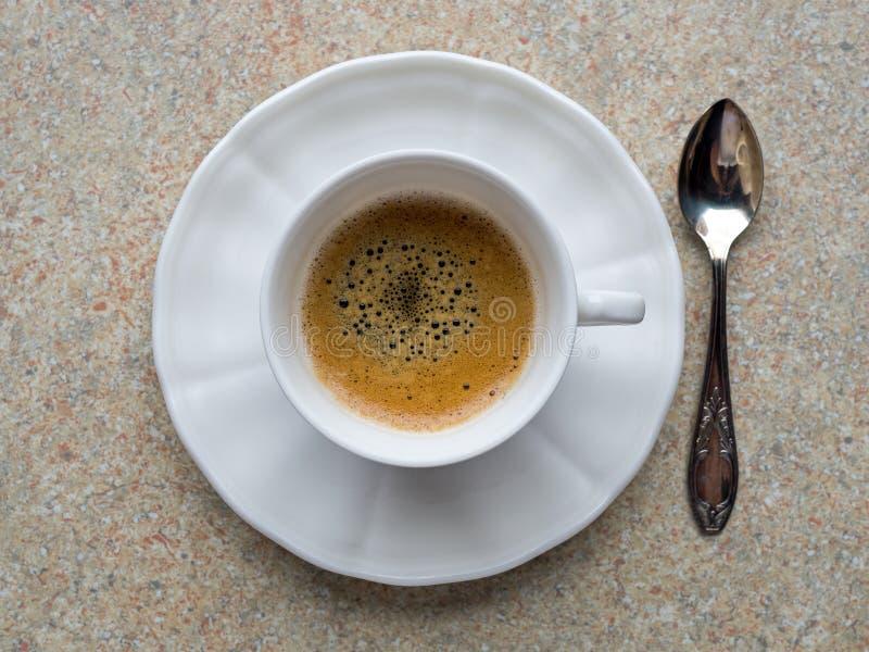 Piccolo espresso coffee stock photo. Image of caffeine ...