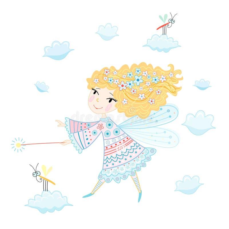 Piccolo fairy royalty illustrazione gratis