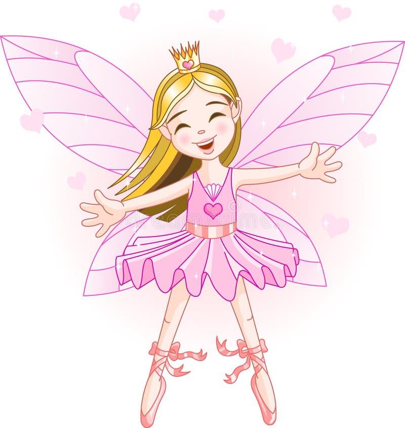 Piccolo fairy dentellare illustrazione di stock