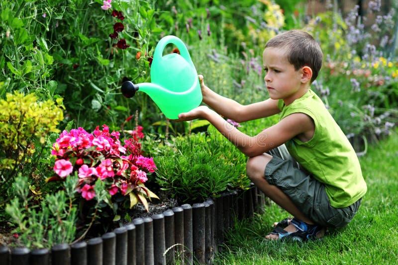 Piccolo giardiniere fotografie stock libere da diritti