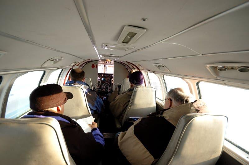 Piccolo giro dell'aeroplano immagine stock libera da diritti