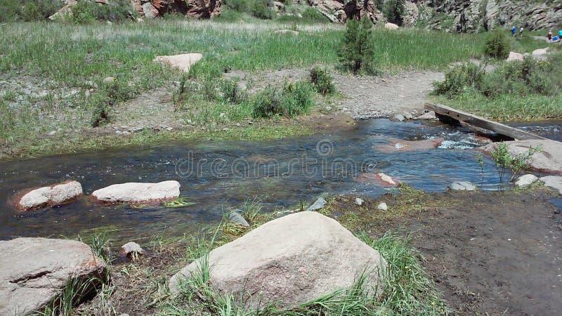 Piccolo incrocio di fiume immagine stock
