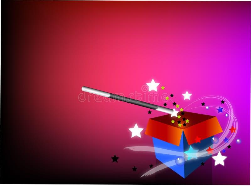 Piccolo mago royalty illustrazione gratis