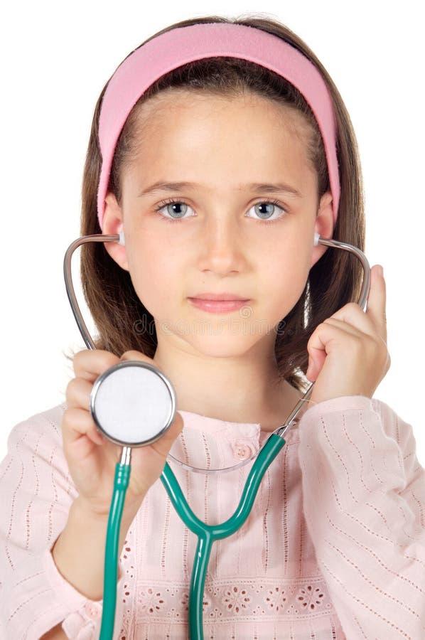 Piccolo medico immagine stock