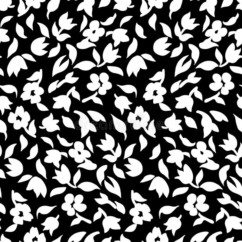 Piccolo modello di fiori 002 illustrazione vettoriale