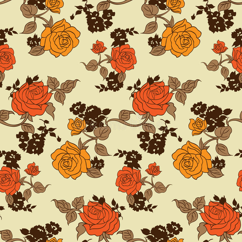 Piccolo modello di fiori 011 royalty illustrazione gratis