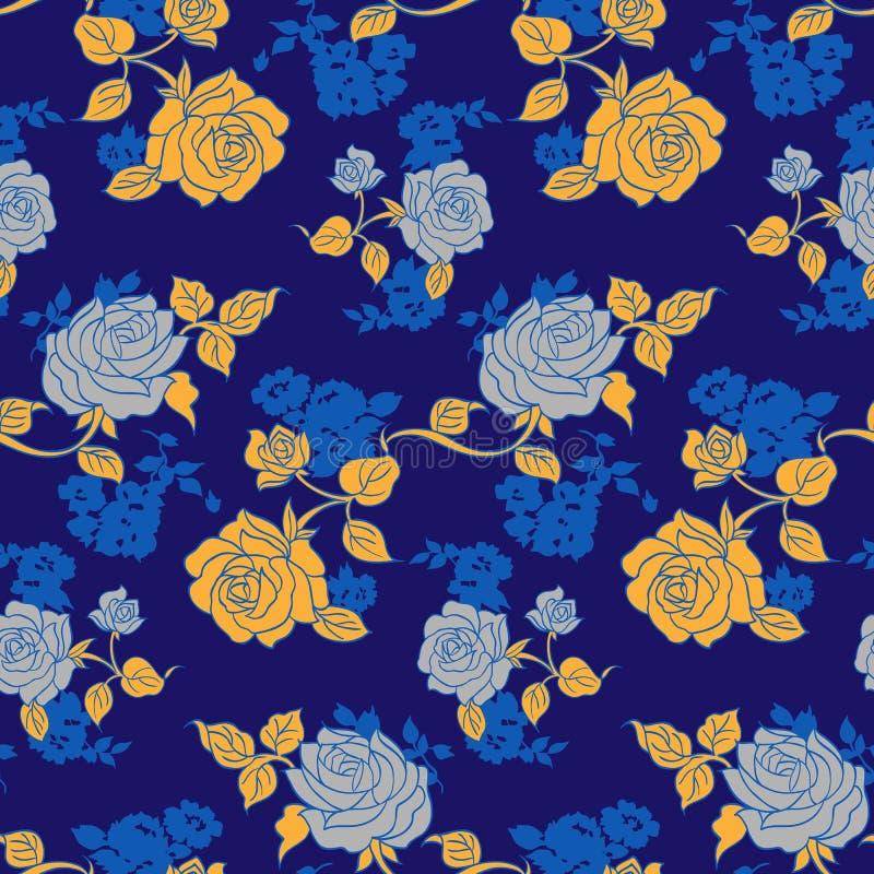 Piccolo modello di fiori 016 illustrazione di stock