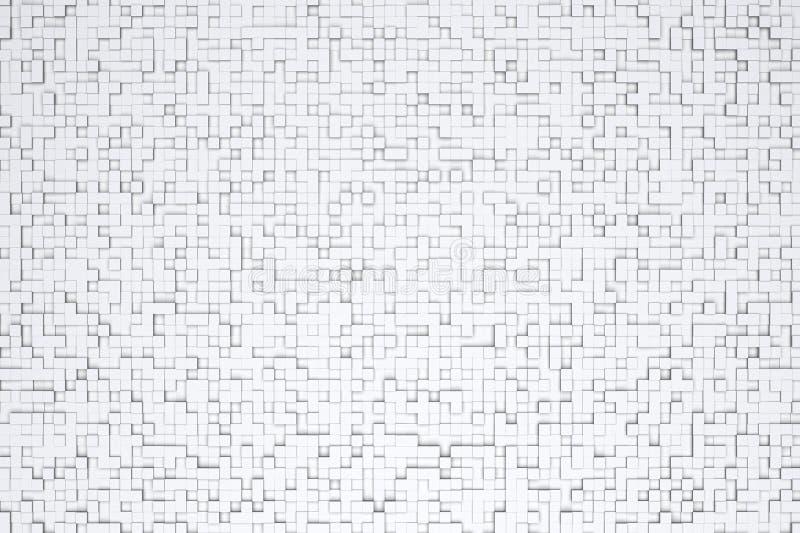 Download Piccolo Modello Geometrico Bianco O Grigio Astratto Di Progettazione Del Fondo Delle Mattonelle Del Cubo 3d Illustrazione di Stock - Illustrazione di modello, arte: 117978455