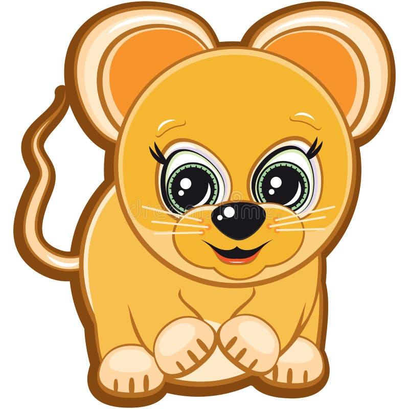 Piccolo mouse illustrazione di stock