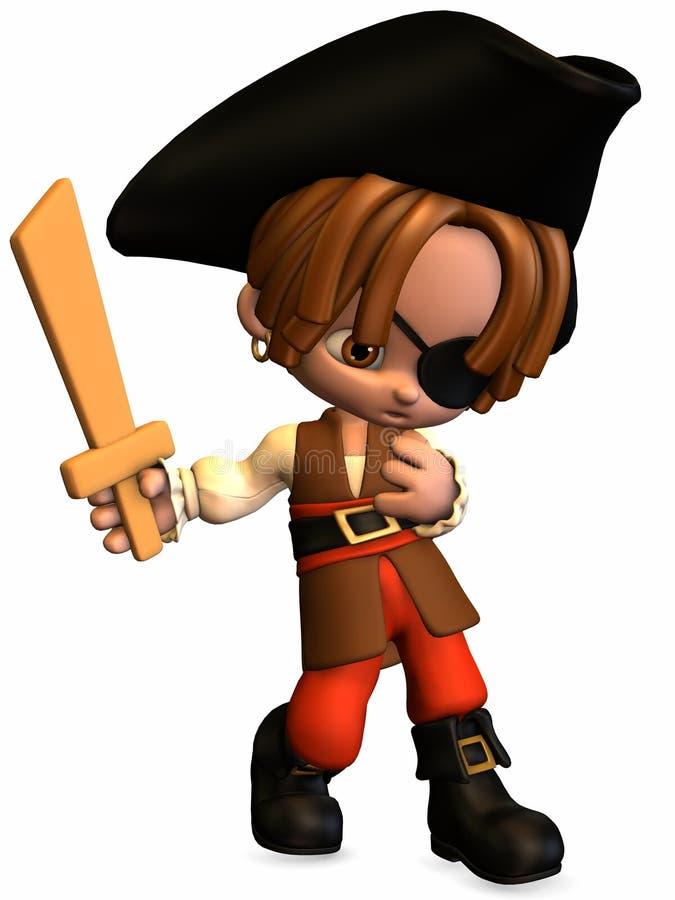 Download Piccolo Pirata - Figura Di Toon Illustrazione di Stock - Illustrazione di illustrazione, fumetto: 7311935