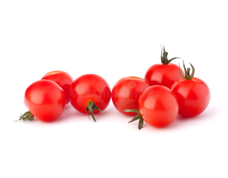 Piccolo pomodoro ciliegia fotografia stock libera da diritti