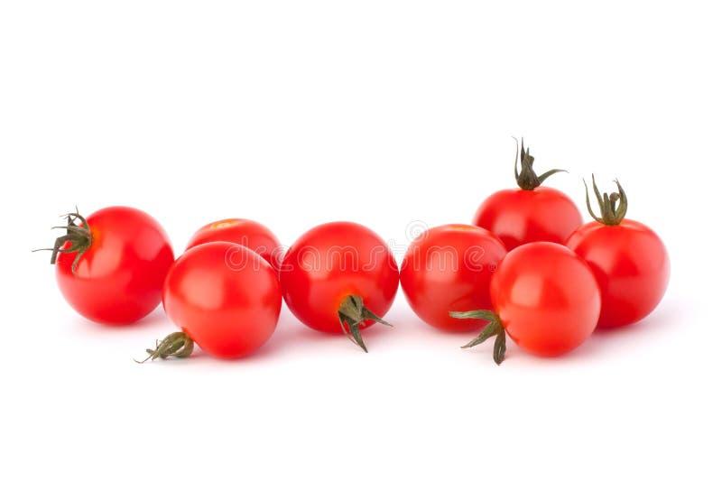 Piccolo pomodoro di ciliegia immagini stock