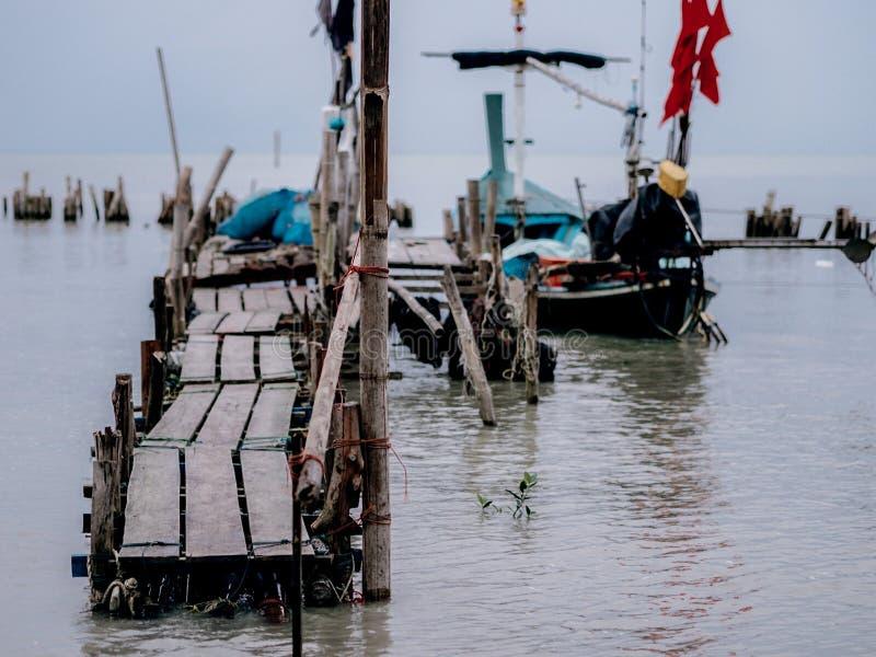 Piccolo porto di pesca immagini stock