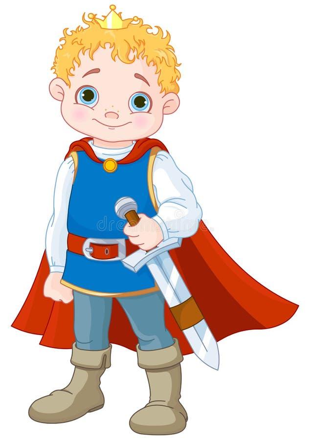 Piccolo principe illustrazione di stock