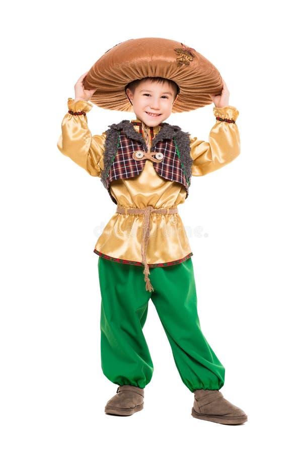 Piccolo ragazzo sorridente immagine stock libera da diritti