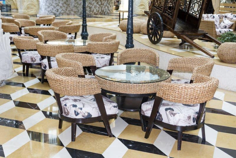 Piccolo ristorante italiano fotografie stock libere da diritti
